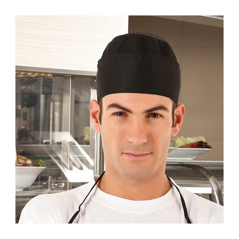 Cooking Hat Bower WHITE Adult