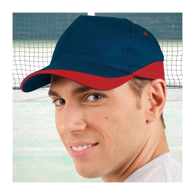 Cap Fort ORION NAVY BLUE-LOTTO RED Adult