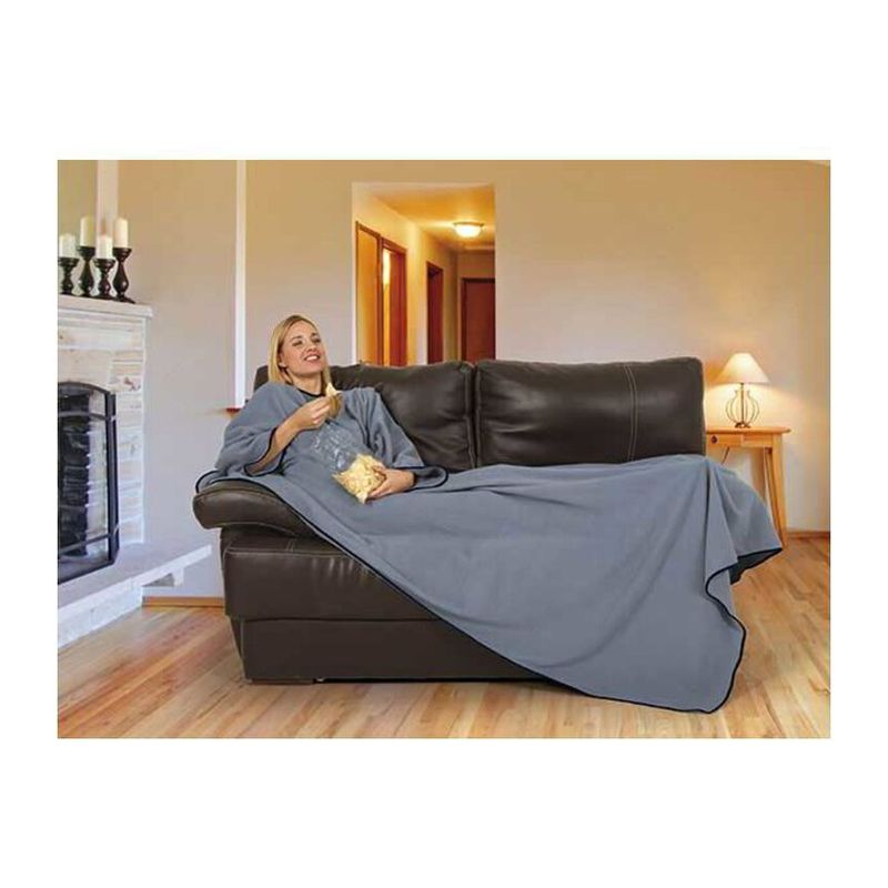 Blanket With Sleeves Movie SMOKE GREY One Size
